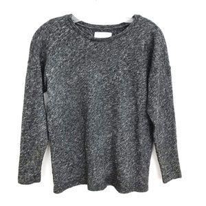 Everlane wool cotton sweater tee heathered top